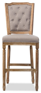 Julie French Bar Stool Beige