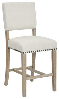 Avenue Six Carson Counter Stool in Linen