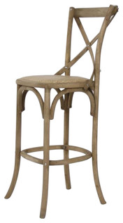 Parisienne Cafe Bar Stool Natural Oak