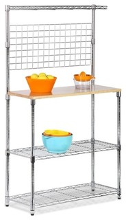 Chrome 2 Shelf Urban Baker x27 s Rack