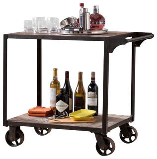 Dayne Transitional Bar Cart