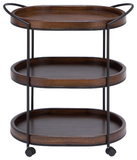 3 Tier Wooden Serving Tray