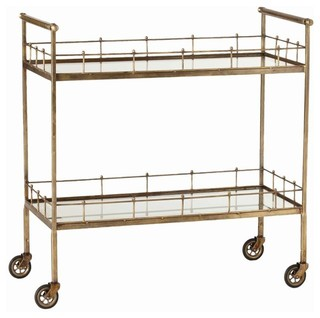 Arteriors 6525 Lisbon Bar Cart