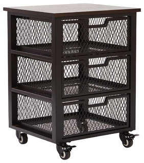 Holden 3 Drawer Cart