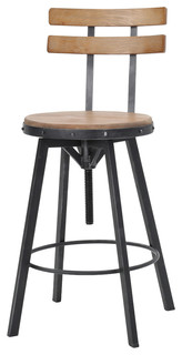 Poe Adjustable Bar Stool
