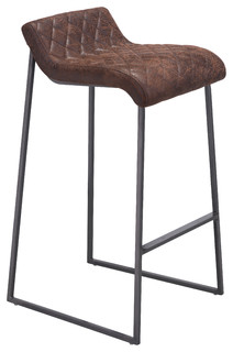 Father Bar Stools Set of 2 Vintage Brown 33 9 quot