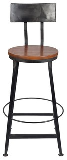 Iron Back Bar Chair