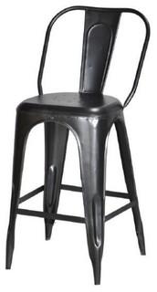 Raw Metal Bar Seat