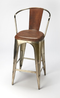 Roland Barstool Medium Brown