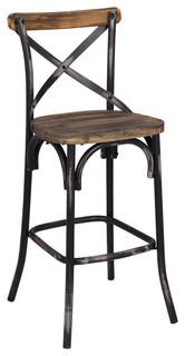 Belas Bar Chair Black