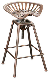 Charlie Tractor Seat Bar Stool