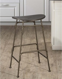 Hillsdale Mitchell 26 5 quot Backless Counter Stool Black