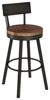Amisco Lauren Swivel Stool 30 quot