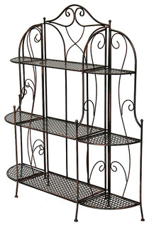 48 3 Shelf Bakers Rack Steel