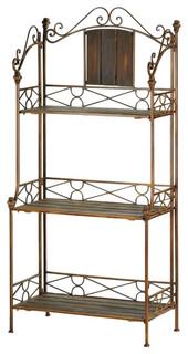 Rustic Baker x27 s Rack Shelf