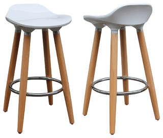 Brunch Contemporary Stools Set of 2