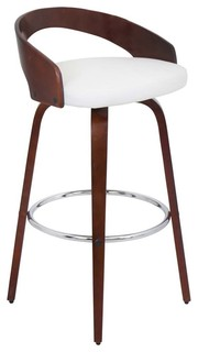 Grotto Stool White Bar Height