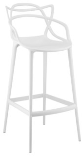 Modway Entangled Bar Stool White