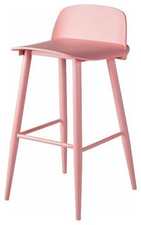 Soco Bar Stool Pink