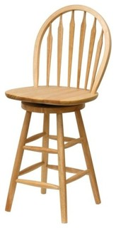 Winsome Wood Cottage Beech Solid Wood Bar Stool