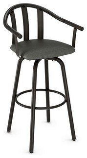 Sloped Swivel Counter Stool