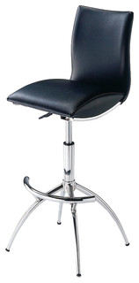 Modern Bar Stools With Adjustable Seat Height Set of 2