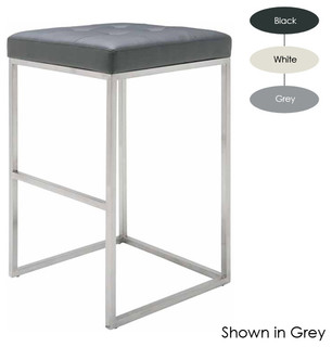 Chi Barstool Set of 2 White