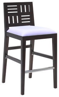 Quatro Barstool Dark Walnut Brown