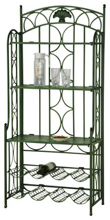 5 Tier Iron Indoor Outdoor Bakers Rack