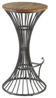 New Foundry Hourglass Bar Stool