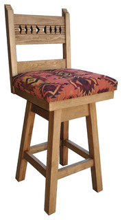 Sedona Swivel Bar Stool Bar Height