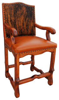 Austin Bar Stool Cowhide Bar Height
