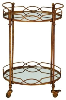 Enticing Metal Mirror Cart 25 quot x34 quot