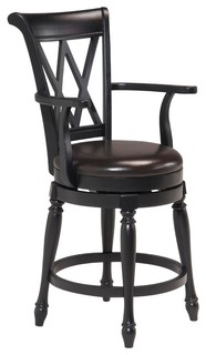 Monarch Bar Stool Black