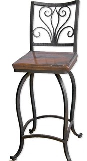 Alexander 30 quot Swivel Bar Stool no Arms
