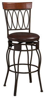 Four Oval Back Counter Stool 24 quot