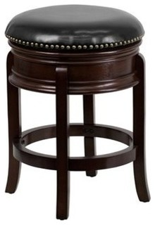 Counter Height Stool Black Cappuccino