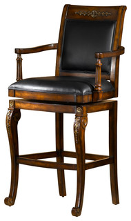 Douglas Wooden Bar Stool