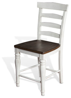 Bourbon Country Ladder Back Counter Stool