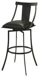 Pastel Amrita Barstool Graphite Black Ford Black 26 Inch