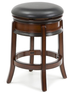 24 quot Swivel French Leg Bar Stool