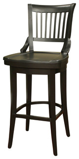 American Heritage Liberty Stool in Black 26 Inch