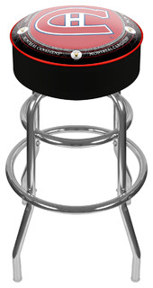 NHL Vintage Padded Swivel Barstool Montral Canadiens