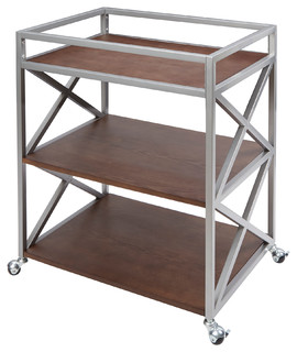 Maxwell 3 Tier Bar Cart by Silverwood