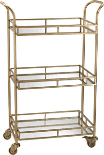 Gold Bar Cart 351 10184