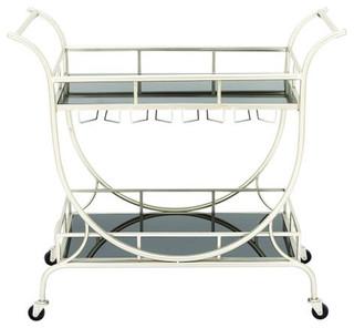 Metal Glass Cart