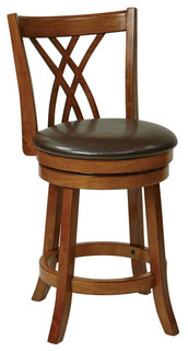 Metro Swivel Counter Stool Oak