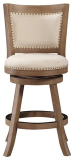 Dune Melrose Swivel Counter Stool Driftwood Gray