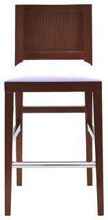 Garis Barstool Dark Walnut