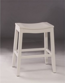Bowery Hill 24 Counter Stool White
